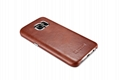 iCarer Samsung Galaxy S7 Vintage Back Cover Series Genuine Leather Case 3