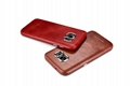 iCarer Samsung Galaxy S7 Vintage Back Cover Series Genuine Leather Case 12