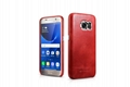 iCarer Samsung Galaxy S7 Vintage Back Cover Series Genuine Leather Case 16