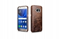 iCarer Samsung Galaxy S7 Oil Wax Back Cover Series Genuine Leather Case 10