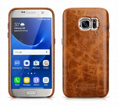iCarer Samsung Galaxy S7 Oil Wax Back