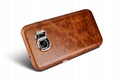 iCarer Samsung Galaxy S7 Oil Wax Back Cover Series Genuine Leather Case 7