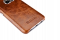 iCarer Samsung Galaxy S7 Oil Wax Back Cover Series Genuine Leather Case 9