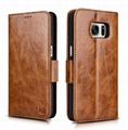iCarer Samsung Galaxy S7 Oil Wax Leather