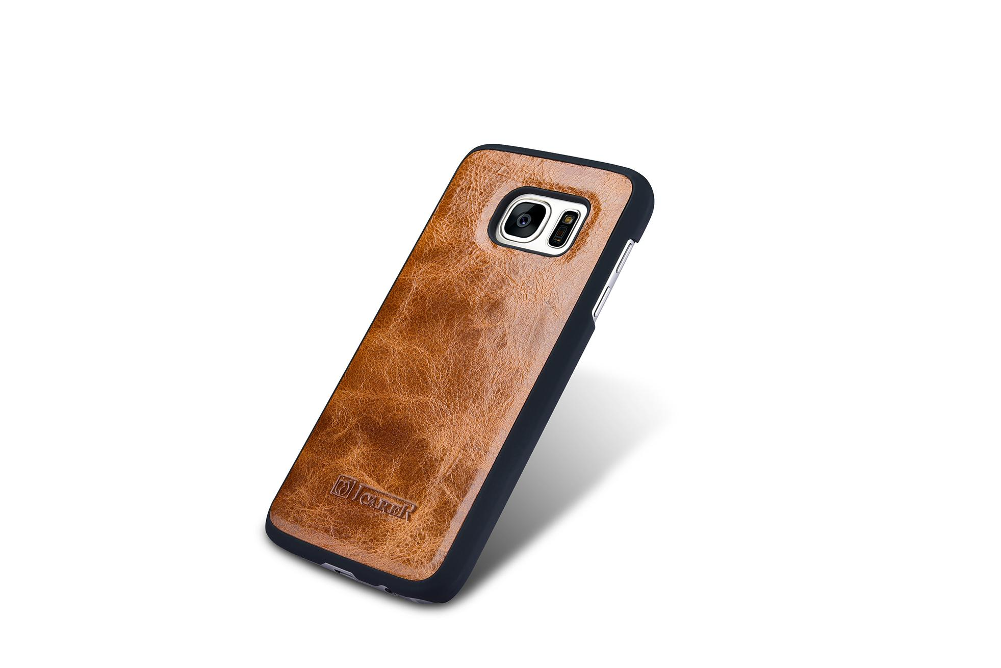 iCarer Samsung Galaxy S7 Oil Wax Leather Detachable 2 in 1 Wallet Folio Case 11