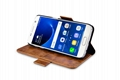 iCarer Samsung Galaxy S7 Oil Wax Leather Detachable 2 in 1 Wallet Folio Case 7
