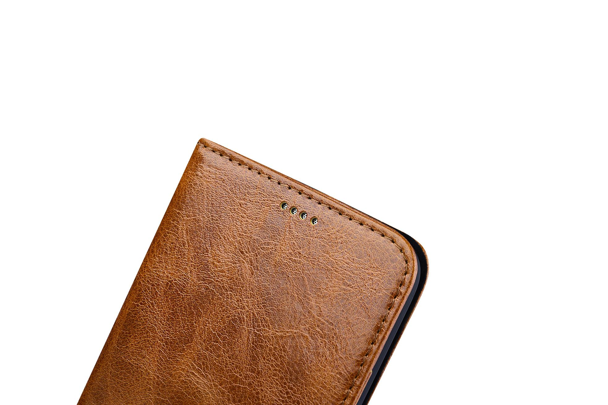 iCarer Samsung Galaxy S7 Oil Wax Leather Detachable 2 in 1 Wallet Folio Case 13