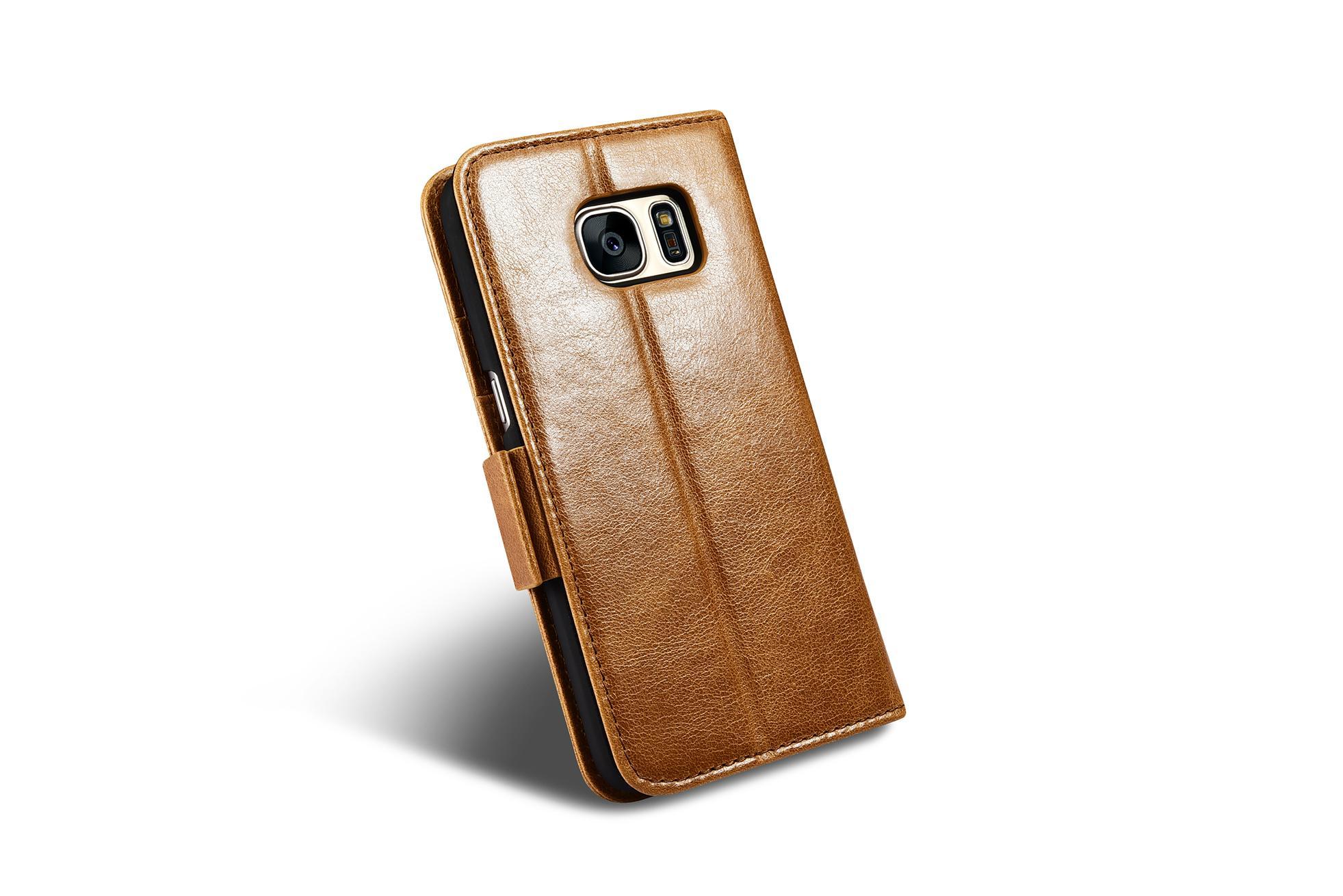iCarer Samsung Galaxy S7 Silmarillion Leather Detachable 2in1 Wallet Folio Case 12