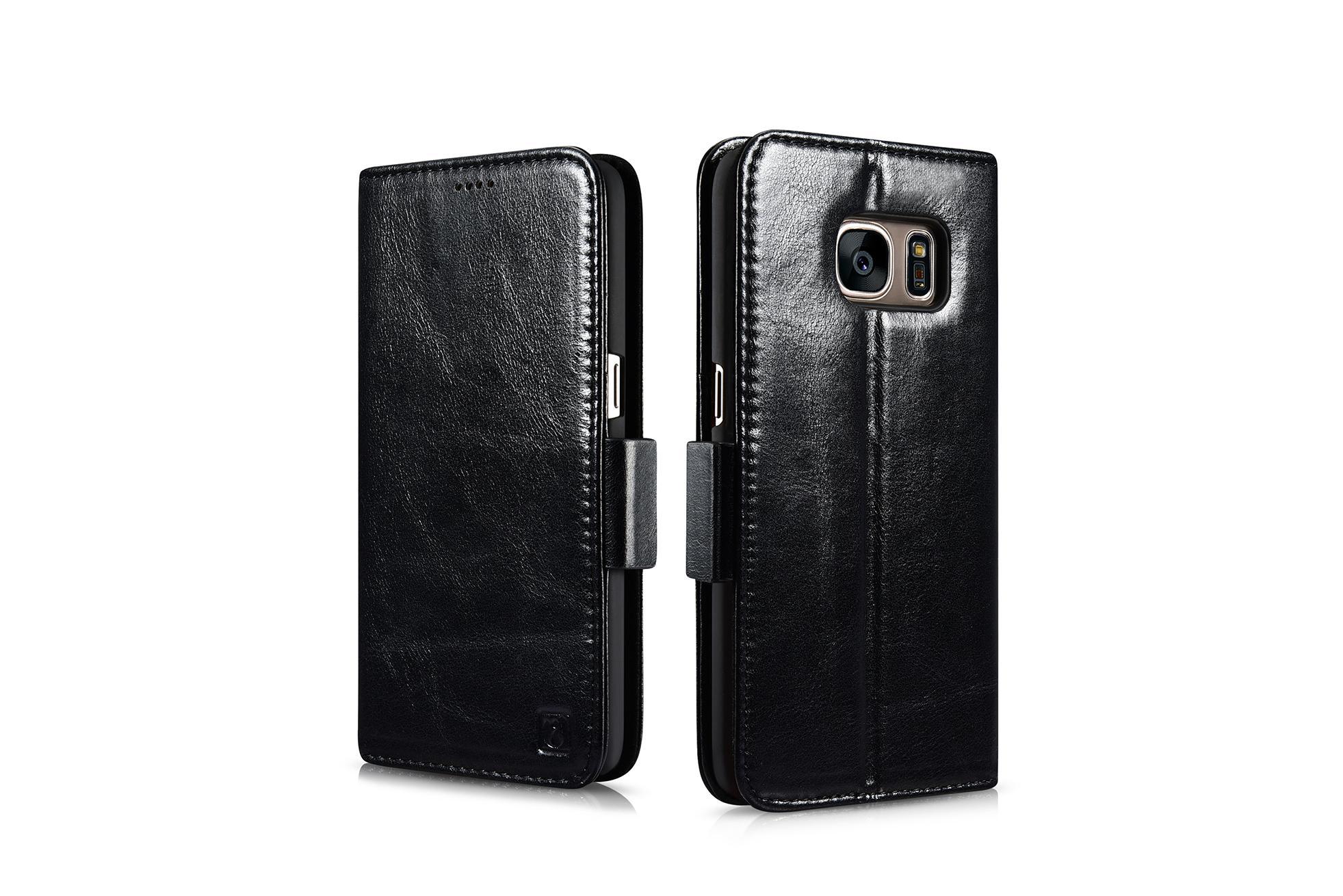 iCarer Samsung Galaxy S7 Silmarillion Leather Detachable 2in1 Wallet Folio Case 19
