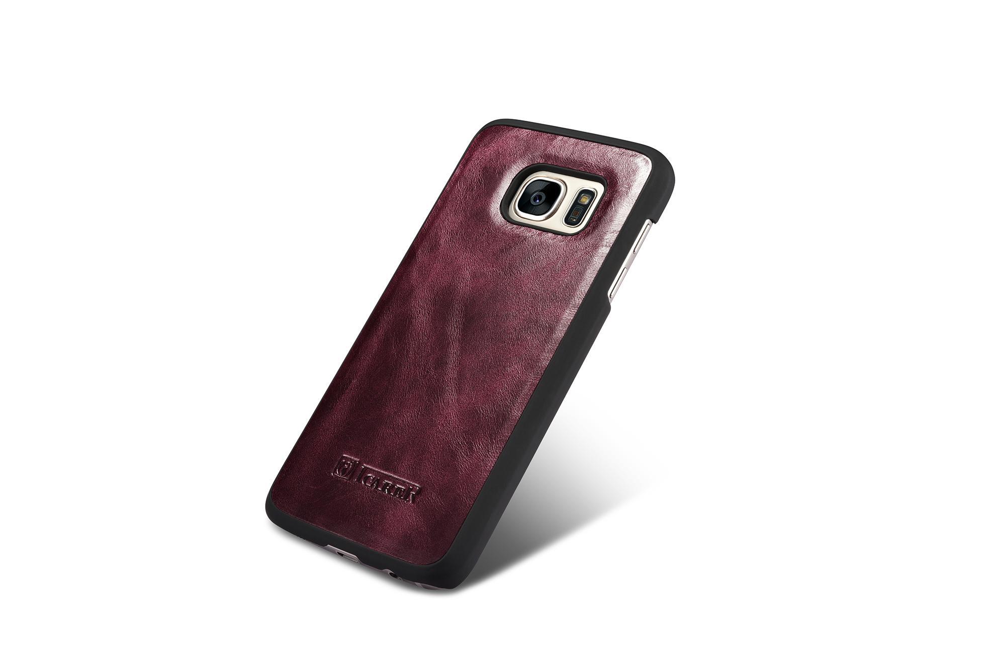 iCarer Samsung Galaxy S7 Silmarillion Leather Detachable 2in1 Wallet Folio Case 6