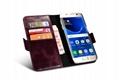 iCarer Samsung Galaxy S7 Silmarillion Leather Detachable 2in1 Wallet Folio Case 3