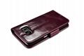 iCarer Samsung Galaxy S7 Silmarillion Leather Detachable 2in1 Wallet Folio Case 9