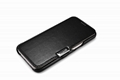 iCarer Samsung Galaxy S7 Luxury Series Side Open Genuine Leather Case 3
