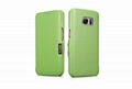 iCarer Samsung Galaxy S7 Luxury Series Side Open Genuine Leather Case 18