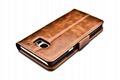 iCarer Samsung Galaxy Note 7 Oil Wax Genuine Leather Wallet Folio Case 9