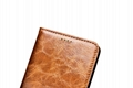 iCarer Samsung Galaxy Note 7 Oil Wax Genuine Leather Wallet Folio Case 11