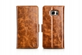 iCarer Samsung Galaxy Note 7 Oil Wax Genuine Leather Wallet Folio Case 15