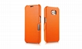 iCarer Samsung Galaxy S6 Side Open Luxury Series Genuine Leather Case Cover 9