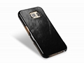 iCarer Samsung Galaxy S6 Side Open Vintage Series Genuine Leather Case Cover 12