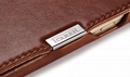 iCarer Samsung Galaxy S6 Side Open Vintage Series Genuine Leather Case Cover 6