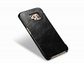 iCarer Samsung Galaxy S6 Edge Side Open Vintage Series Genuine Leather Case 13