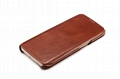 iCarer Samsung Galaxy S6 Edge Side Open Vintage Series Genuine Leather Case 3