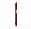 iCarer Samsung Galaxy S6 Edge Side Open Vintage Series Genuine Leather Case 4