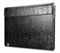 iCarer Surface Book Embossed Crocodile Genuine Leather Detachable Flip Case 4
