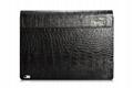 iCarer Surface Book Embossed Crocodile Genuine Leather Detachable Flip Case 19