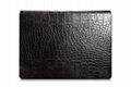 iCarer Surface Book Embossed Crocodile Genuine Leather Detachable Flip Case 20