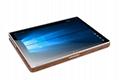iCarer Surface Book Oil Wax Vintage Genuine Leather Detachable Flip Case 6