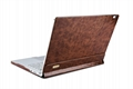 iCarer Surface Book Oil Wax Vintage Genuine Leather Detachable Flip Case