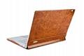 iCarer Surface Book Oil Wax Vintage Genuine Leather Detachable Flip Case 7