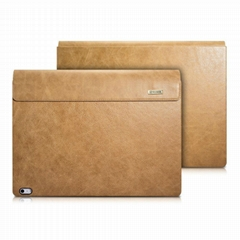 iCarer Surface Book Shenzhou Genuine Leather Detachable Flip Case