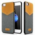 Xoomz iPhone 7 V-Neck PU Back Cover