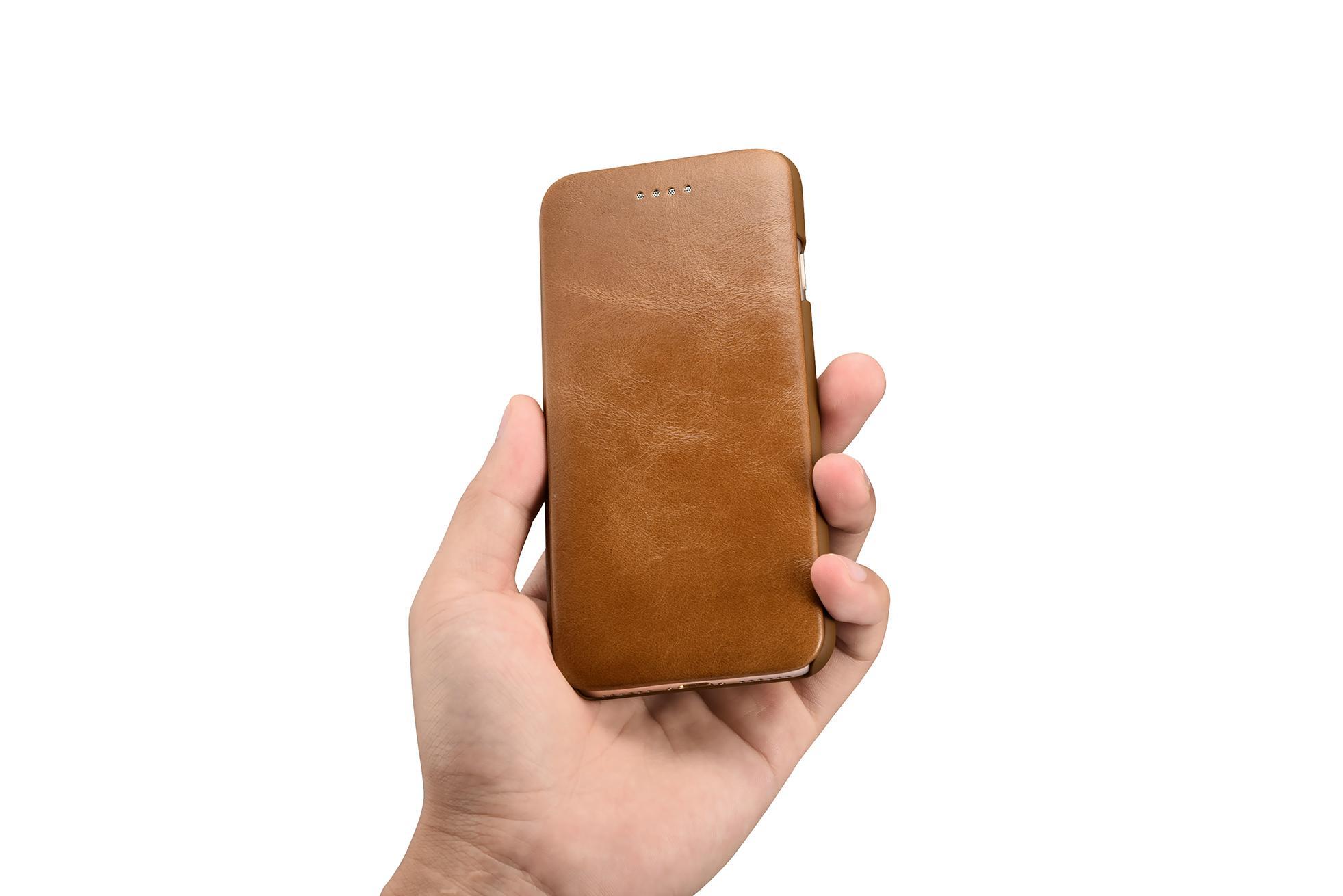 Xoomz iPhone 7 Silmarillion Leather Side Open Case 8