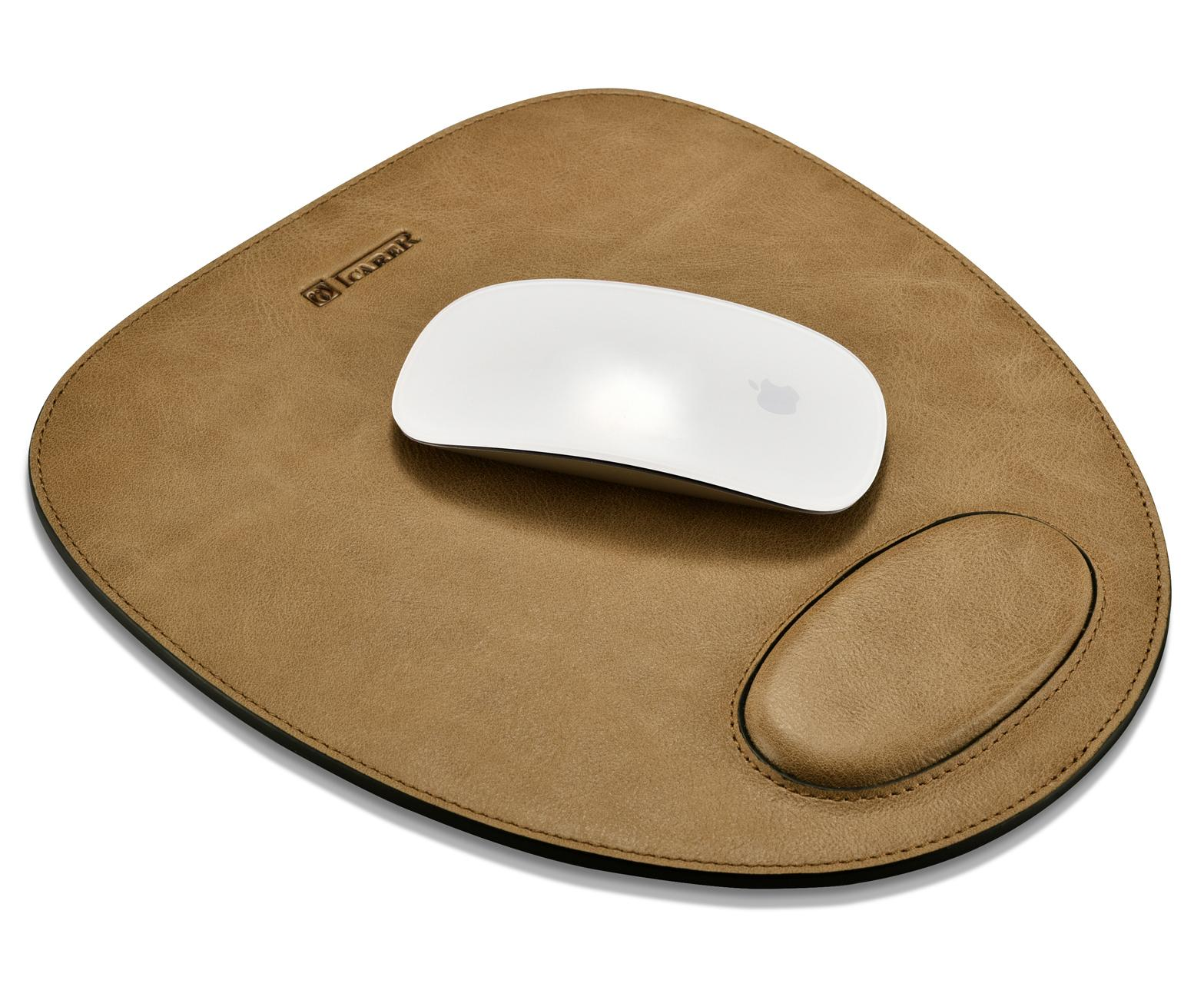 iCarer Shenzhou Real Leather Mouse Pad 1