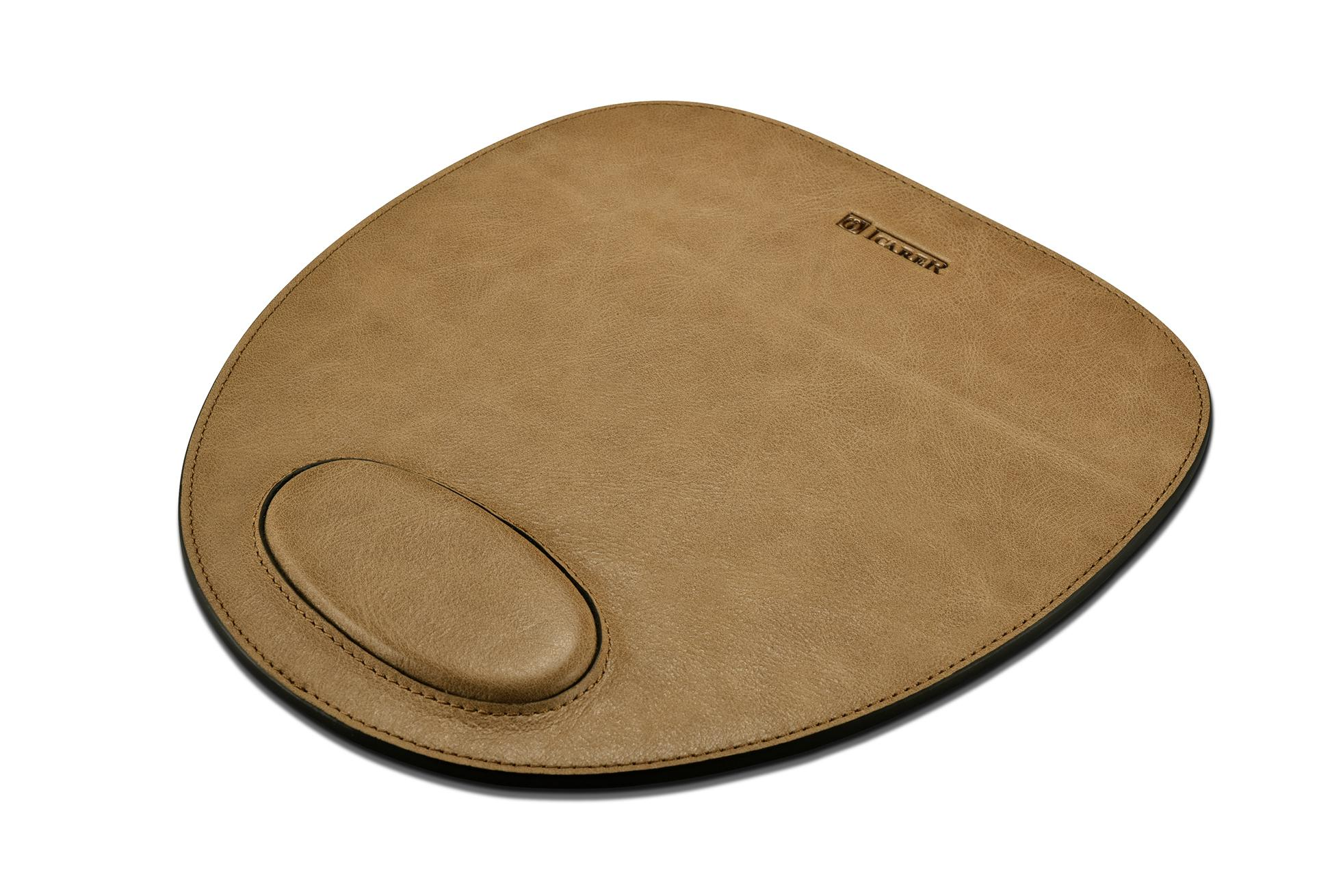 iCarer Shenzhou Real Leather Mouse Pad 4