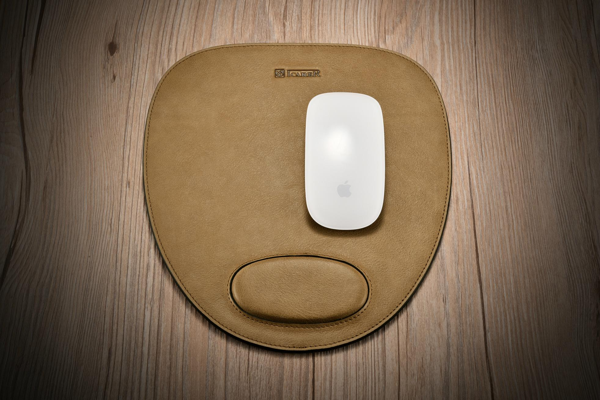 iCarer Shenzhou Real Leather Mouse Pad 6
