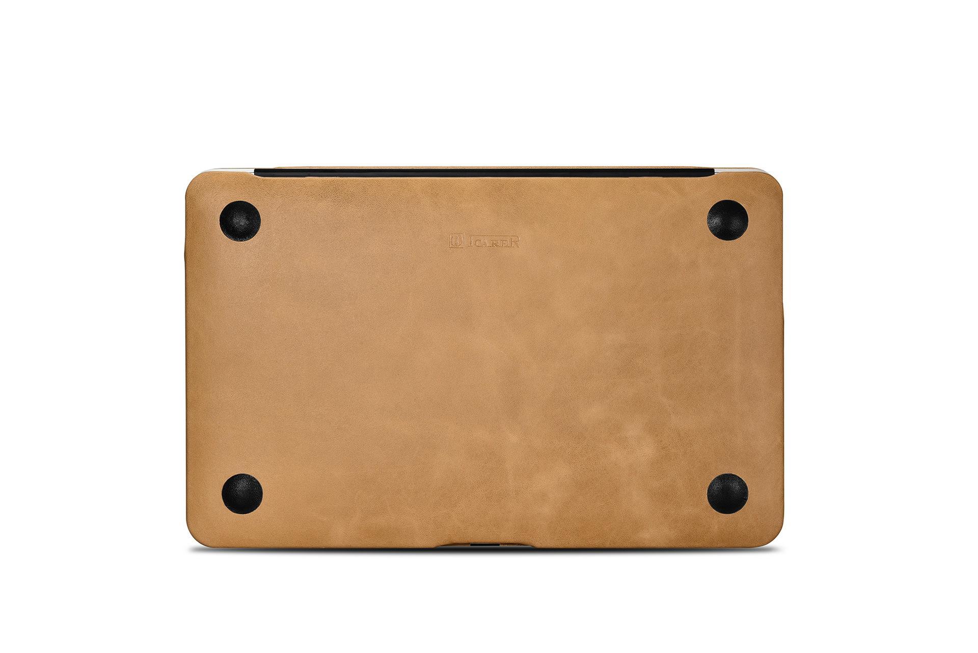 iCarer MacBook Air 11 inch Vintage Book Style Slim Folio Case 7