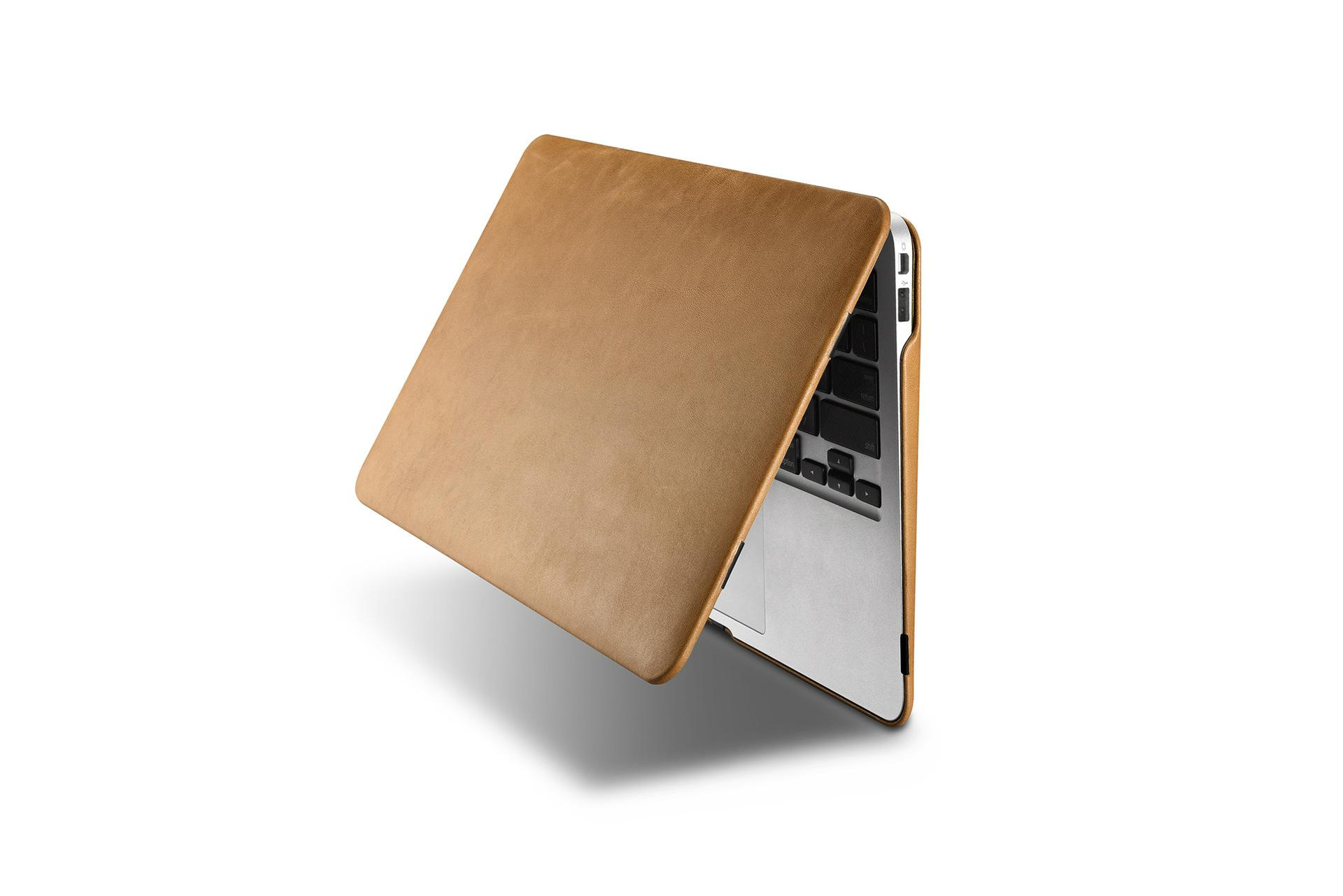 iCarer MacBook Air 11 inch Vintage Book Style Slim Folio Case 10