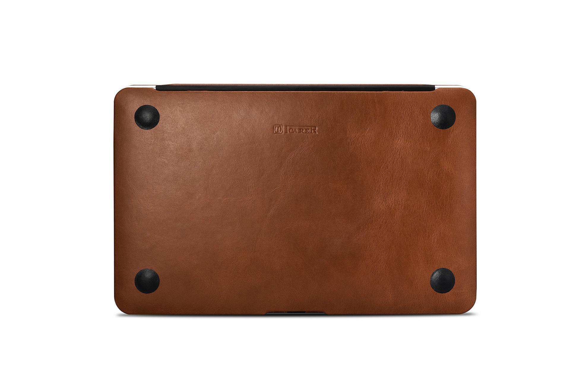 iCarer MacBook Air 11 inch Vintage Book Style Slim Folio Case 18