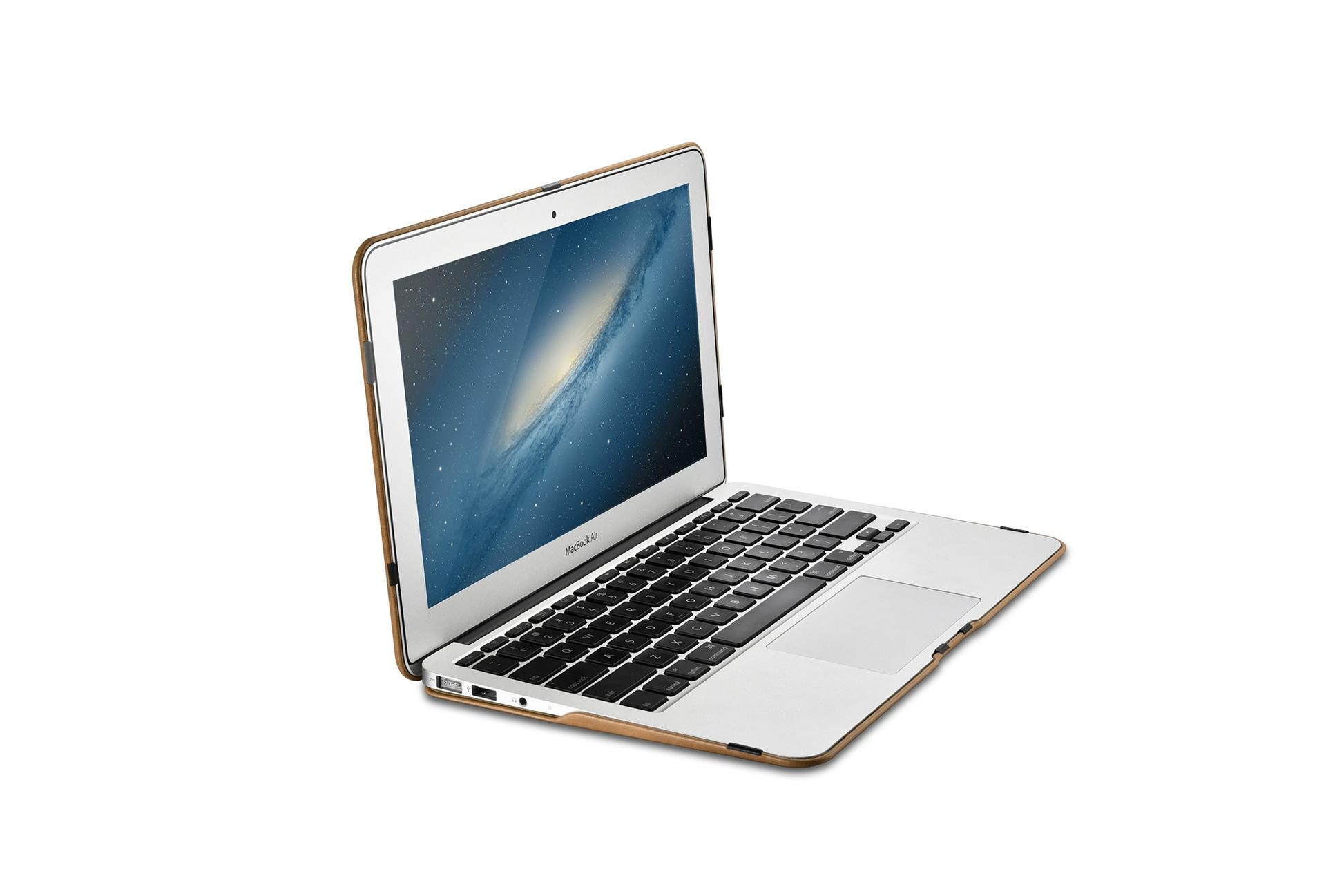 iCarer MacBook Air 11 inch Vintage Book Style Slim Folio Case 12