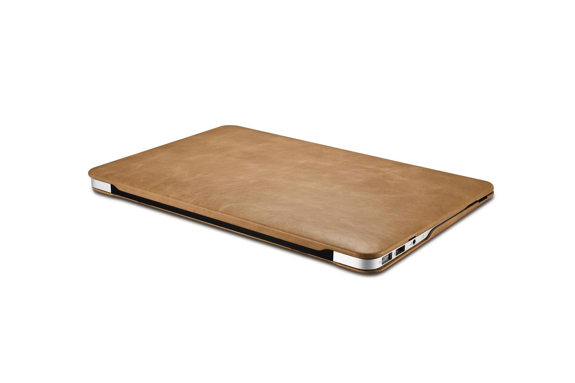 iCarer MacBook Air 11 inch Vintage Book Style Slim Folio Case 9
