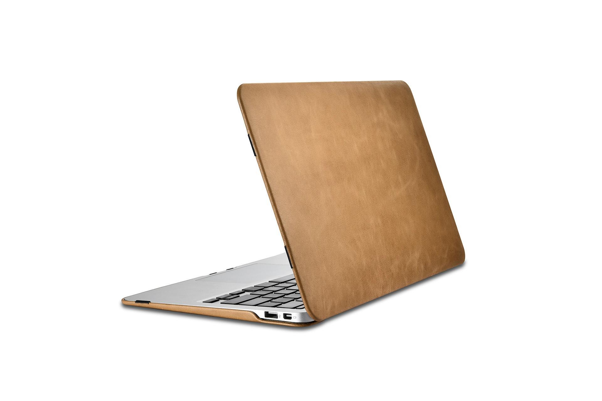 iCarer MacBook Air 11 inch Vintage Book Style Slim Folio Case 11
