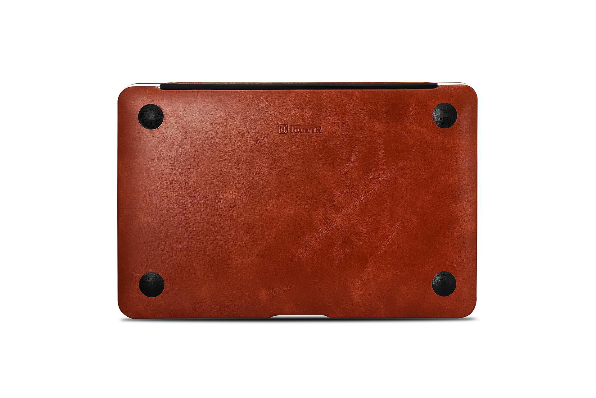 iCarer MacBook Air 11 inch Vintage Book Style Slim Folio Case 16