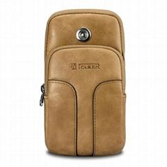 iCarer Shenzhou Real Leather Sports Armband Bag