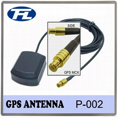 Magnet/adhesive mount car GPS active antenna