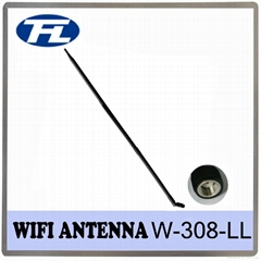 High gain 17dBi Wifi/2.4G rubber Antenna whip antenna