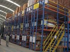 海力智能倉儲貨架-自動化立體倉庫-密集穿梭立體庫-海力立體倉庫